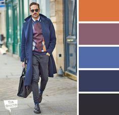 Цветовые сочетания в одежде для мужчин