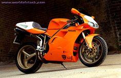 Orange Ducati 748!