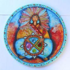 Mandala Sabedoria Xamã