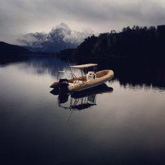 @LlaoLlaoHotel #bariloche Lago Moreno, un dia de lluvia puede tener tanto encanto como uno de sol.