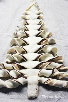 Pastry-Tree, Blätterteig Tanne; #weihnachten #rezepte