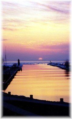 South Haven, Michigan, more like South HEAVEN! - I've heard it's beautiful on the beach in Michigan.
