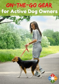 Exercise--and bring your dog along--with these great leashes and harnesses for walking, running or biking with your best friend.