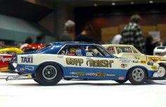 Gapp and Roush Maverick race car
