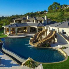 Luxury Swimming Pool Designs to Revitalize Your Eyes Everyone loves luxury swimming pool designs, aren't they? We love to watch luxurious swimming pool pictures because they are very pleasing to our eyes. Now, check out these luxury swimming pool designs. Luxury Swimming Pools, Luxury Pools, Dream Pools, Luxury Spa, Luxury Travel, Swimming Pool Pictures, Swimming Pool Designs, Dream Home Design, My Dream Home