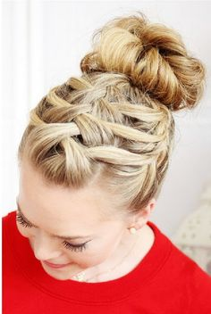 Women Latest Fashion: The Triple French Braid, Creative Braid Tutorials