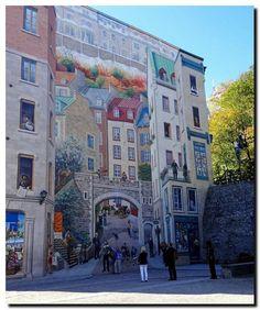 La fresque des Quebecois by jacquest