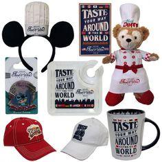 Epcot Food and Wine Festival merchandise. #Disney
