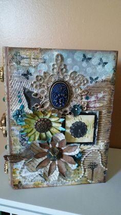 My first try at shabby chic Decorative Boxes, Shabby Chic, Frame, Home Decor, Picture Frame, Decoration Home, Room Decor, Frames, Home Interior Design