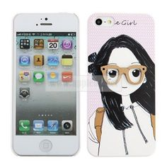 Cocoroni Little Girl Plastic Ultra thin Back Case Cover For iPhone 5 - iPhone 5 Cases & Covers - iPhone 5 Accessories - iPhone Accessories