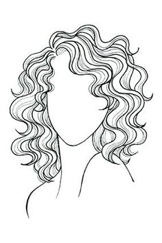 Wavy or Curly Hair, Oval Face A cut that skims your shoulders plays up curls; a side part enhances cheekbones.