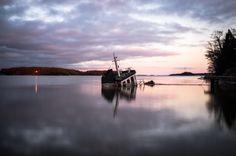 superbnature:  Sunken Boat by LosJamosh