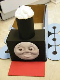 Thomas the Tank Engine...Fun idea