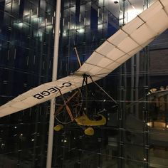 A plane is now hanging at the @museumofnature.