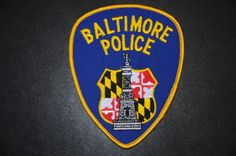 Baltimore Police Patch (Independent City, provides Sheriff's services), Maryland (Current Issue)