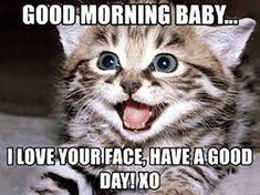 Good Morning Beautiful Meme, Good Morning To Her, Cute Good Morning Pictures, Beautiful Day Quotes, Great Day Quotes, Good Morning Handsome, Good Morning Funny, Good Morning Texts, Good Morning Quotes