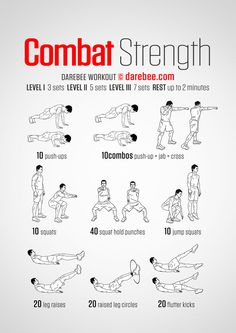 Combat Strength Workout