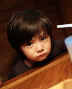 Leo from MBLAQ's Hello Baby: Awww why so sad T_T
