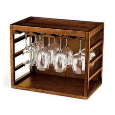 Wine Enthusiast Companies Tabletop Wine Glass Rack | Wayfair