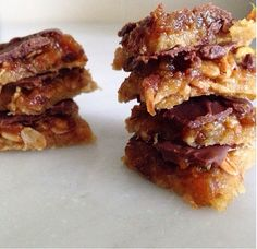 nesscooks: Gluten-Free Caramel Crunch Slice