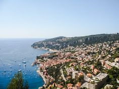 The road from Nice to Monaco is gorgeous offering a wonderful view of the coast.  It's such a pleasure driving along the coastal road with the sea on your right. The green hills, the sea and  the lovely villas will make you want make you want to never leave this place.