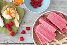 Tropical Fruit Punch Popsicles