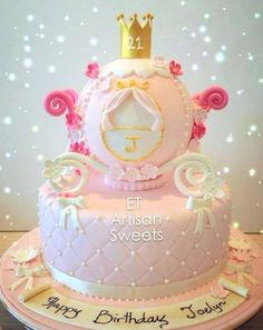 Princess cake. Absolutely gorgeous!