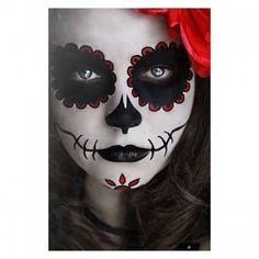 Макияж на Хеллоуин: 30 идей праздничного грима. Фото 14. Мир