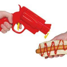 Condiment Gun!! OMG so awesome!