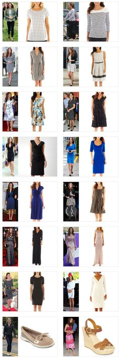Kate Middleton Style Inspiration. SHOP these repliKates from JC Penney