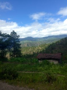 The mountains of siguatepeque