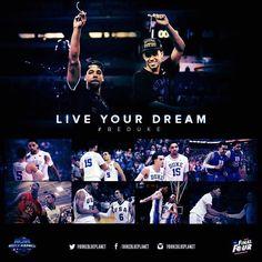 Tyus Jones, Coach K, Duke Blue Devils, Basketball Coach, March Madness, Big Game, Boys Who, Champs, Best Friends