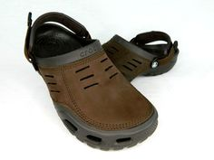070d7caf4e70f2 Crocs Mens 11 Classic Yukon Mesa Espresso Brown Waterproof Slip Slide Clog   fashion  clothing