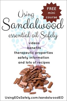 Using Sandalwood Essential Oil Safely Doterra Sandalwood, Sandalwood Essential Oil, Doterra Essential Oils, Essential Oil Blends, Carrier Oils, Young Living, Aromatherapy, Diffuser, Health And Wellness