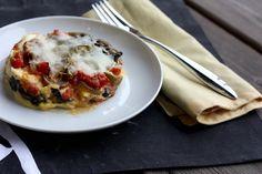vegetable polenta lasagna by Elly Says Opa, via Flickr