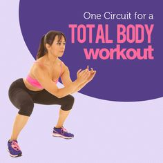 This total body workout is a mixture of cardio and weight training for the ultimate fat burning circuit. #circuittraining