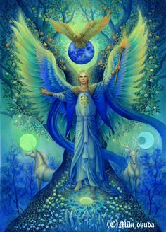 Archangel Michael.Tree of Life by mikioku on DeviantArt