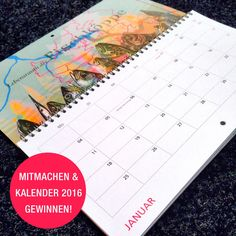 """Kalender-Verlosung """"Meine Perle 2016"""""""