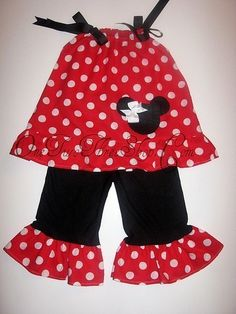 minnie mouse outfit/ there is bound to be a pattern similiar to this for DIY~~~