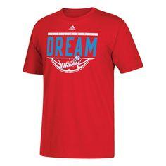Atlanta Dream adidas Balled Out T-Shirt - Red