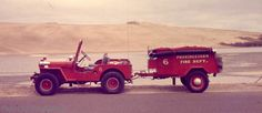 History Provincetown Fire Dept. Jeep served into the 70s
