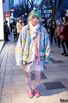 Cute outfit again~ :)