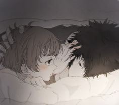 Psycho-Pass. Kougami Shinya & Tsunemori Akane