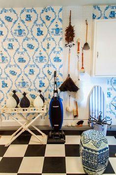 Chinoiserie Chic: My Blue & White Chinoiserie Home