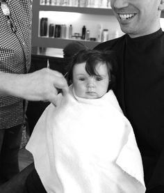 The Reveal. A baby's first haircut. Baby's First Haircut, Baby Haircut, Parent Humor, Baby Safe, Raising Kids, Stress Free, Hair Cuts, Jokes, Parenting