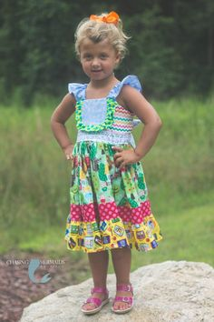 Cutest Back to School dress EVER! @Chasing Mermaids