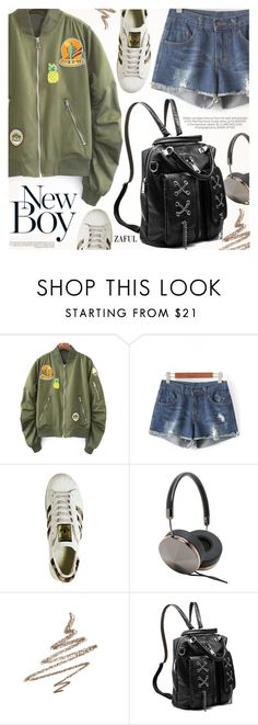 """Street Style"" by pokadoll ❤ liked on Polyvore featuring Frends, Kershaw, Anastasia Beverly Hills, vintage, polyvoreeditorial, polyvorefashion, polyvoreset and zaful"