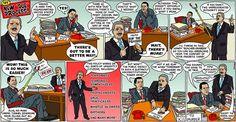"Cartoon by Brian McFadden - The New ""Due Process:"