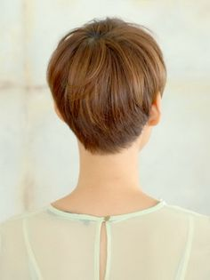 Back of short haircuts
