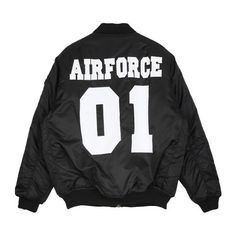 Jacket - Air Force 01 - Jackets - Jackets & Outerwear - Women -... ($120) ❤ liked on Polyvore featuring outerwear, jackets and tops